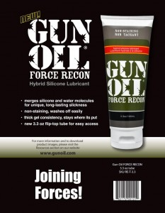 Gun Oil Force Recon混合型潤滑劑