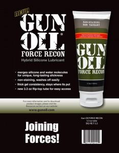 Gun Oil Force Recon混合型潤滑劑
