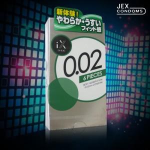 JEX 0.02 6片裝
