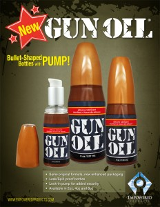 GUN OIL硅基潤滑油
